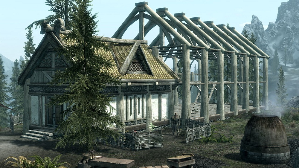 Image Result For Building House In Falkreath